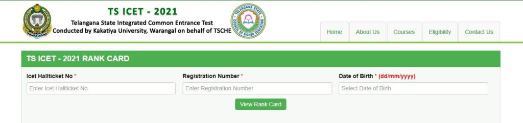 ts icet rank card download 2021